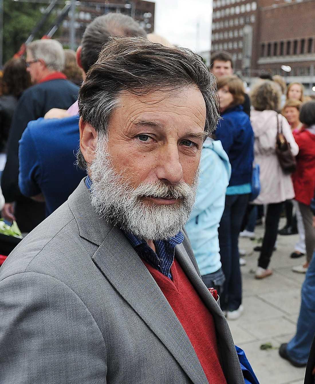 JA Leif Pagrotsky, riksdagsledamot.