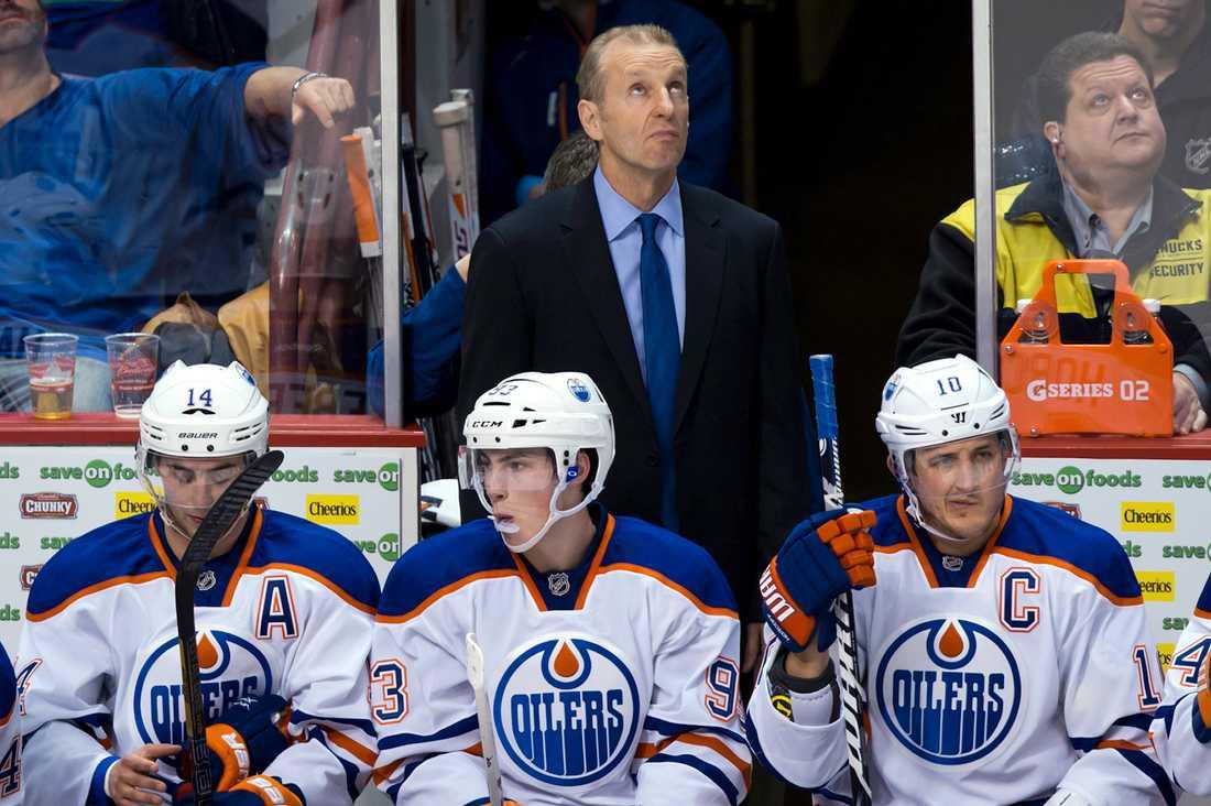 2012–2013 var Krueger head coach för Edmonton Oilers.