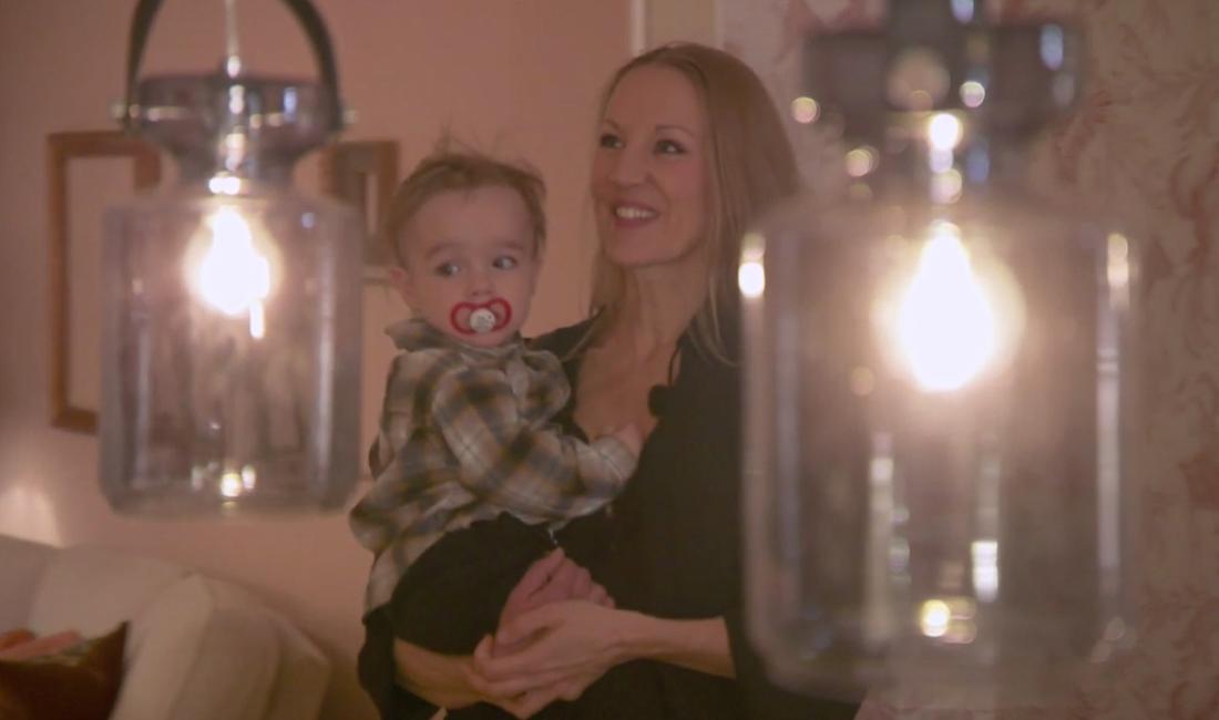 Jenny med sonen Ossian
