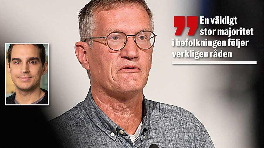Studier om allmänhetens efterlevnad av myndigheternas smittskyddsråd visar inte att svenskar har varit duktiga på att följa råden. Det borde Anders Tegnell känna till, skriver Markus Balázs Göransson, forskare på Försvarshögskolan.