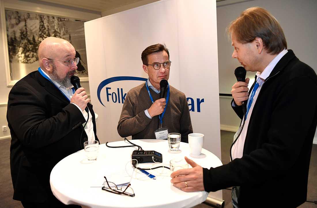 Ulf Kristersson om Kina med Patrik Oksanen och Anders Lindberg