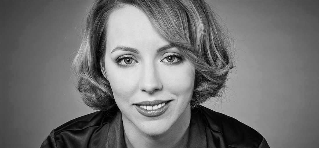 """Katrine Marçal (f. −83), aktuell med """"Att uppfinna världen""""."""