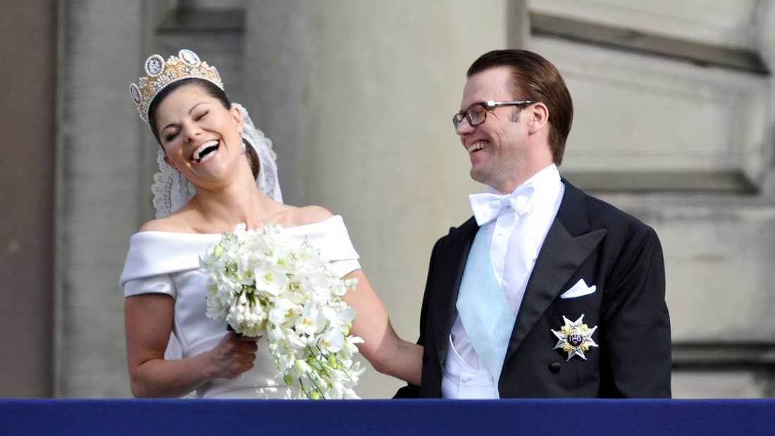 17 MILJONER Kronprinsessan Victoria och prins Daniels bröllop pågick i tre dagar.