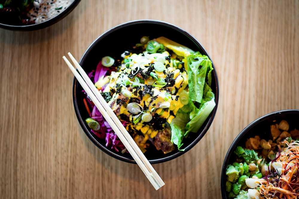 Poke bowls – Spicy tuna