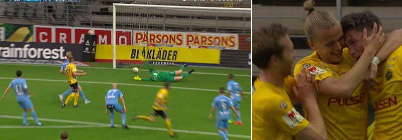 Lasse Nilsson räddade Elfsborg.
