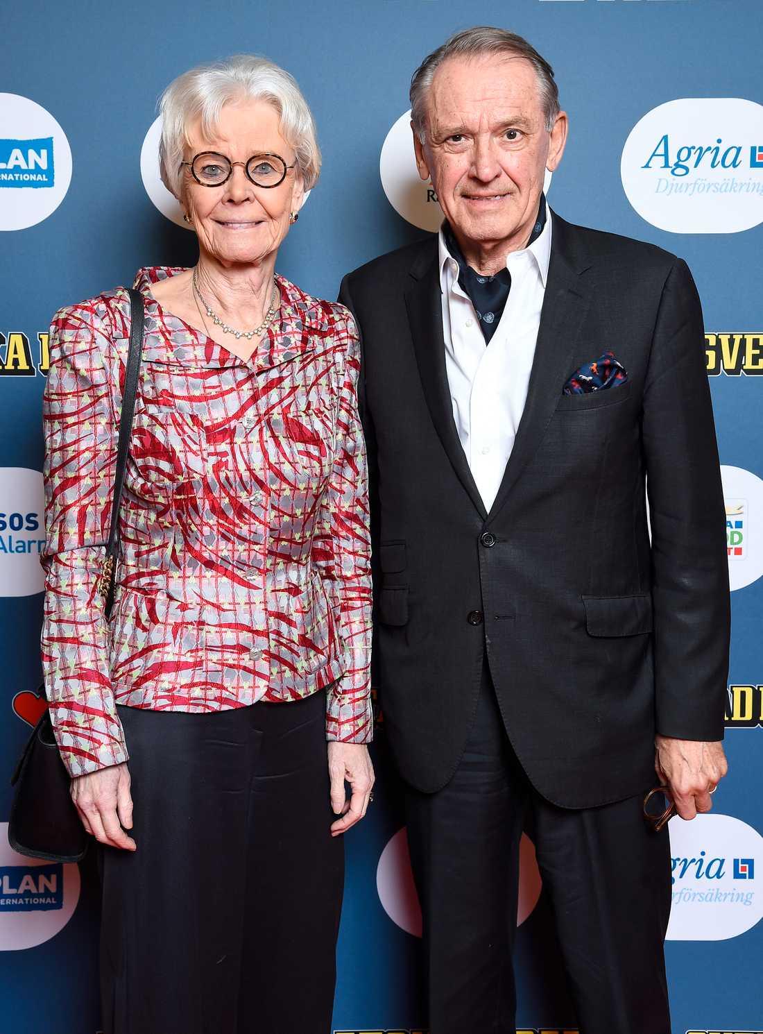 Jan Eliasson tillsammans med Kerstin Eliasson.