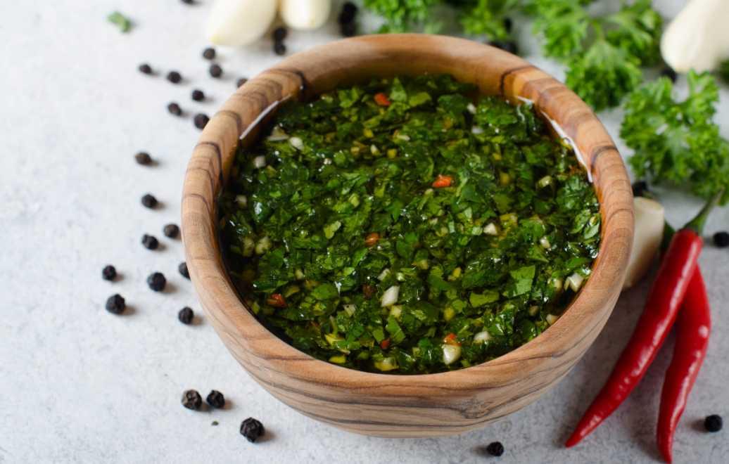 Chimichurri – gröna all around såsen-