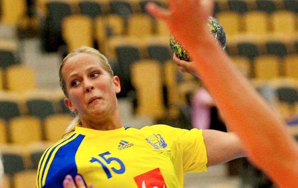 Svenska femmålsskytten Linn Larsson.