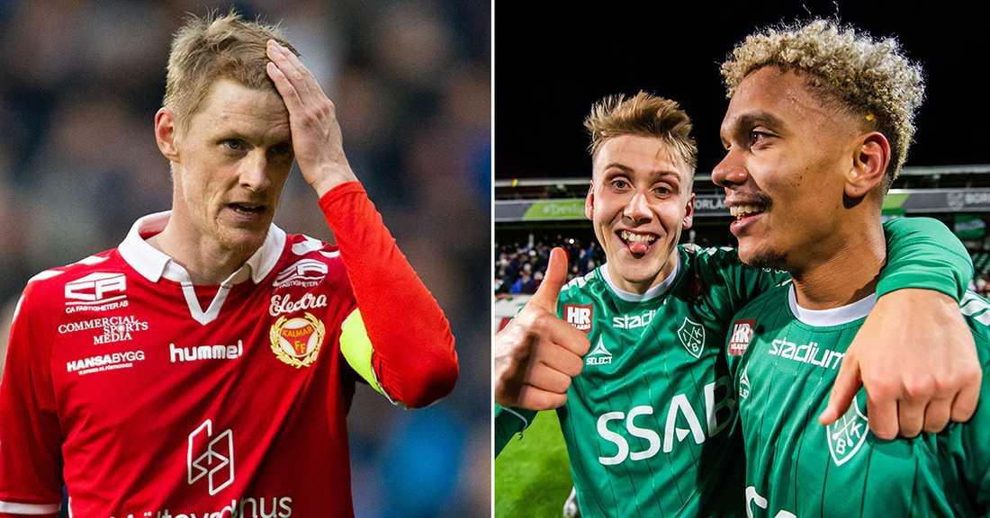 Kalmar ställs mot Brage i allsvenska kvalet.