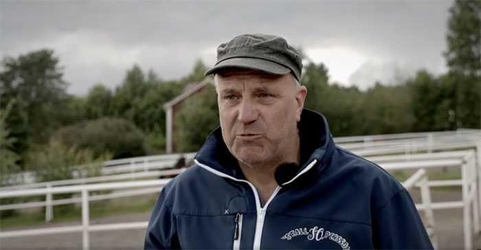 Persson blev rörd när framgångarna för Järvsöfaks avkommor kom på tal.