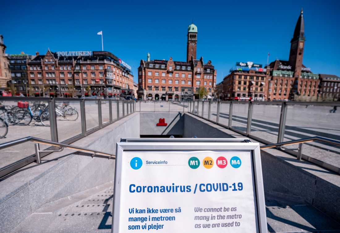 Om det danska samhället ska öppnas är det ett krav att testningen för covid-19 skalas upp, meddelar den danska regeringen som har köpt in tio miljoner snabbtester. Arkivbild.