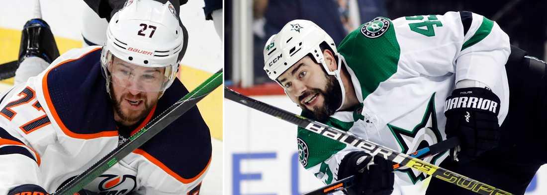 Edmontons Mike Green och Dallas Roman Polak är två  av de sex spelare som under det senaste dygnet valt att hoppa av.