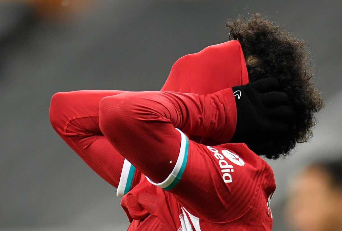 Mohamed Salahs Liverpool hade en tung kväll mot Newcastle.