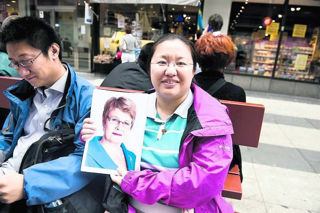 väljer maud Xiaohan Cheng, 32, reklamare, Kina: – För att hon bär glasögon och ser ut att ha ledarskapsförmåga.