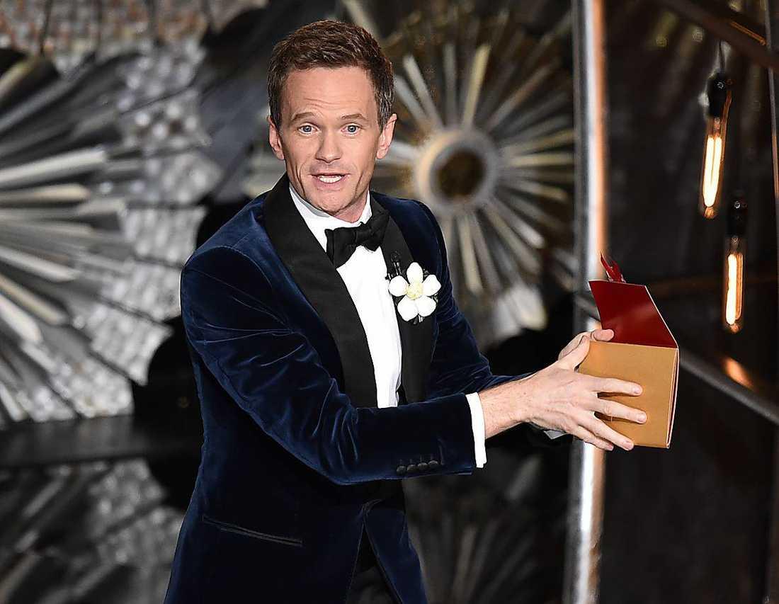 """Neil Patrick Harris lägger av som värd för Oscarsgalan. """"Det var en best"""", säger han."""
