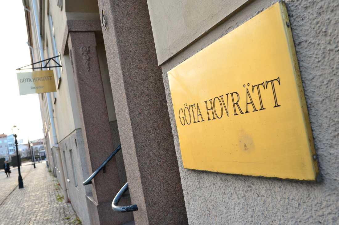 Göta hovrätt i Jönköping. Arkivbild.