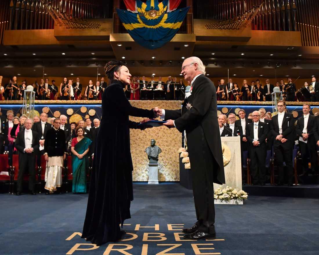 Finns andra sätt att dela ut ett Nobelpris än direkt ur kungens hand? Arkivbild.