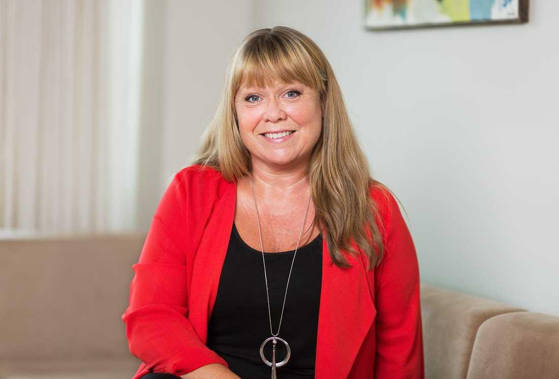 Linda Palmetzhofer, tf förbundsordförande i Handelsanställdas förbund