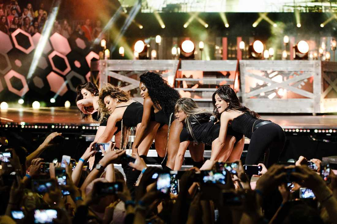 Fifth Harmony in action.