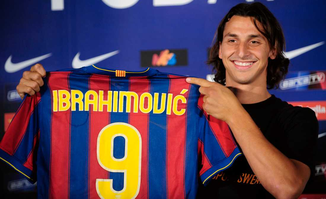 6. Zlatan Ibrahimovic, 32, Sverige.
