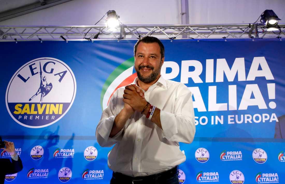 Matteo Salvini. Arkivbild.