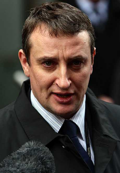 Polisens utredare Andy Brennan.