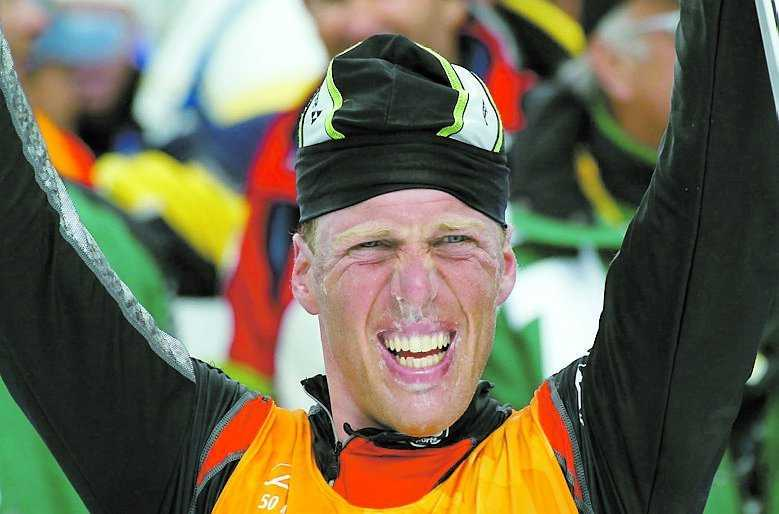 Slakten vid Salt Lake City 2002. En dopad Johan Mühlegg tar OS -guld.