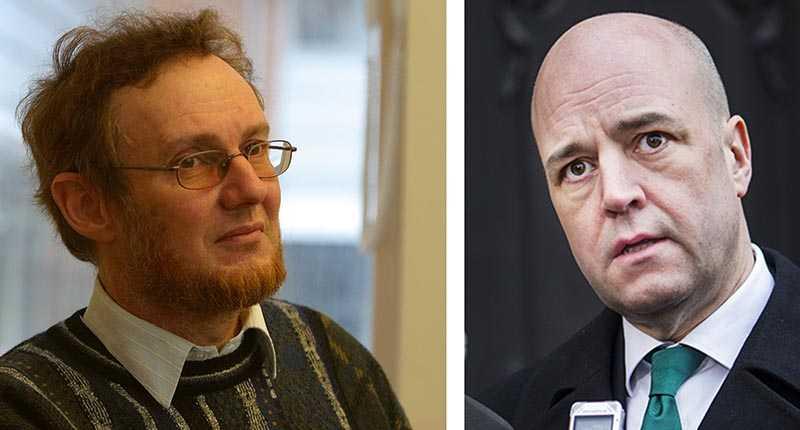 Wilhelm Agrell är kritisk efter Fredrik Reinfeldts uttalande om krisen i Ukraina.