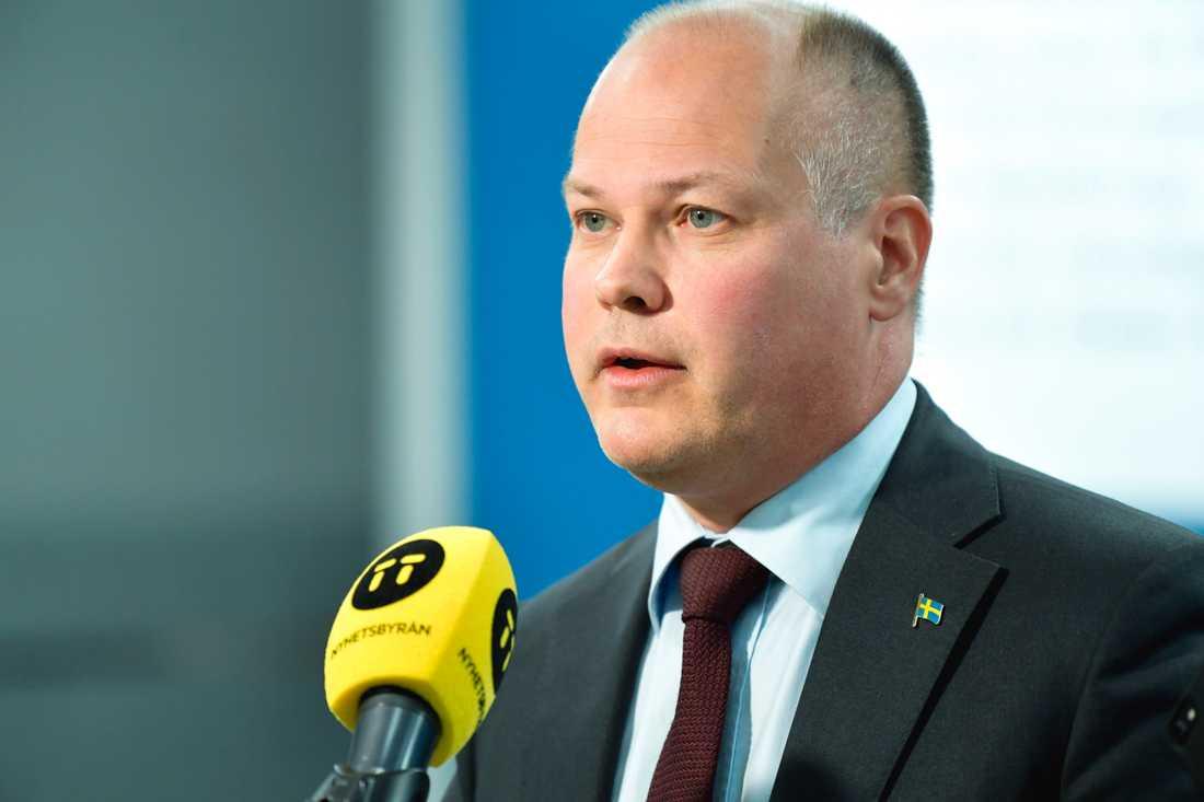 Justitieminister Morgan Johansson (S). Arkivbild.