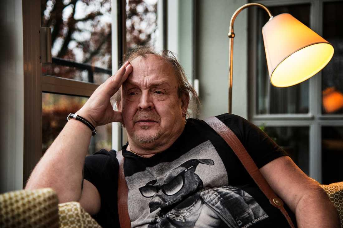 Olle Jönsson i dansbandet Lasse Stefanz.