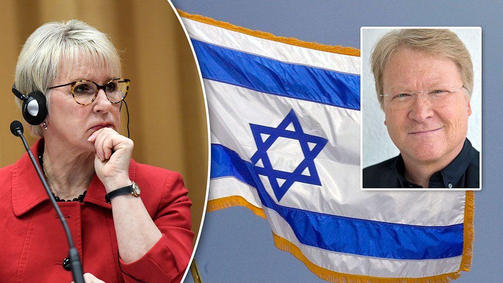 DEBATT: Wallström – dags att sluta svartmåla Israel