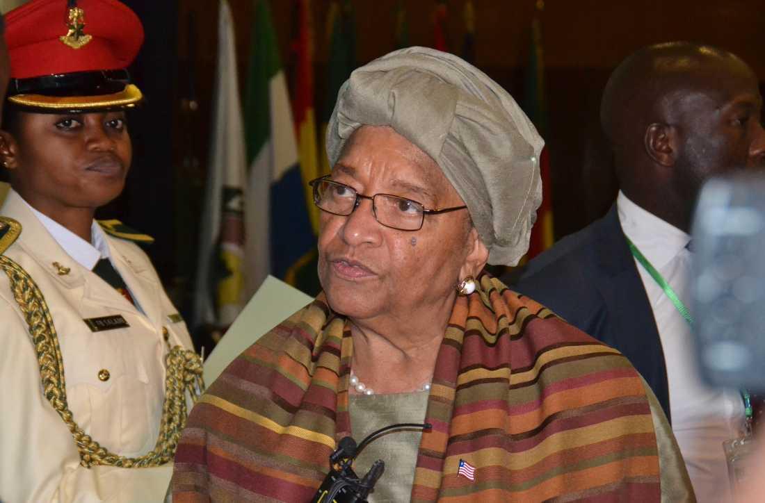 Liberias före detta president Ellen Johnson Sirleaf ingår i den expertgrupp som granskar WHO:s pandemirespons. Arkivbild.