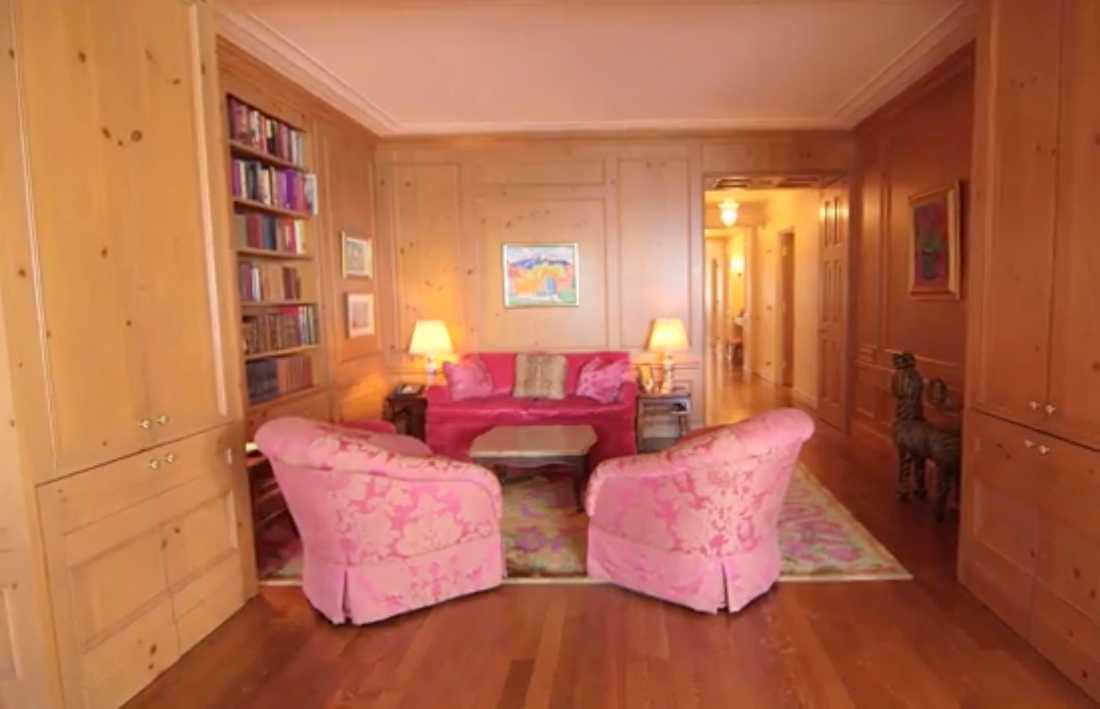 Greta Garbo bodde i sin lägenhet fram till sin död.