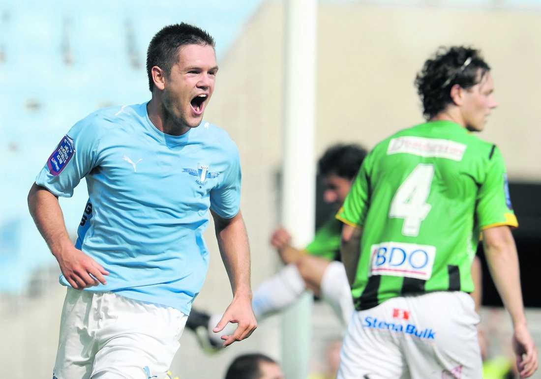 ÅRETS GENOMBROTT? Ivo Pekalski fyllde 20 år den 3 november –och dominerar mittfältet i Malmö FF.