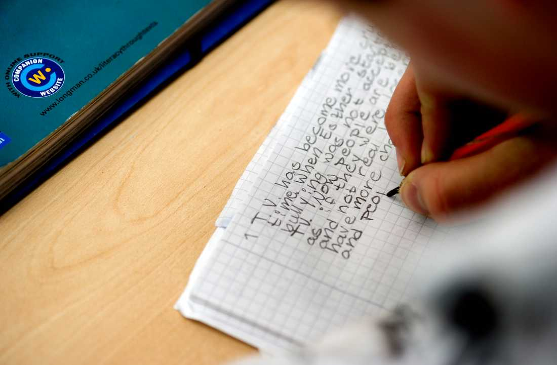 Sverige halkar ner från förstaplatsen i ett årligt språkindex över engelskkunskaper i länder som inte har engelska som förstaspråk. Arkivbild.