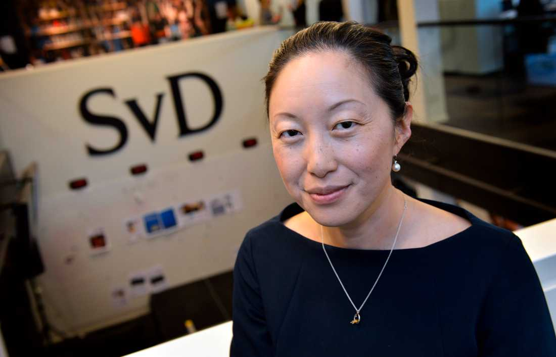 Tove Lifvendahl, politisk chefredaktör på Svenska Dagbladet.