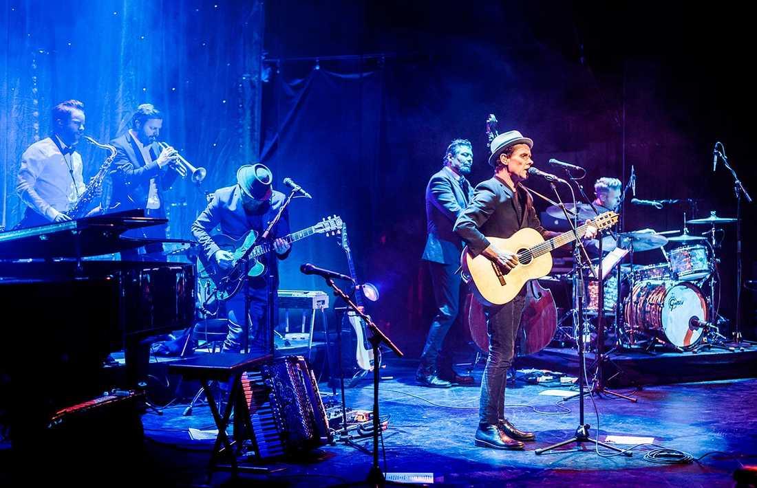 Bo Kaspers Orkester spelade under torsdagskvällen i Stockholm.