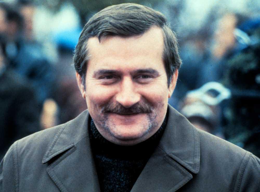 1983 fick polacken Lech Wałęsa fredspriset, som ledare för fackföreningsrörelsen Solidaritet.