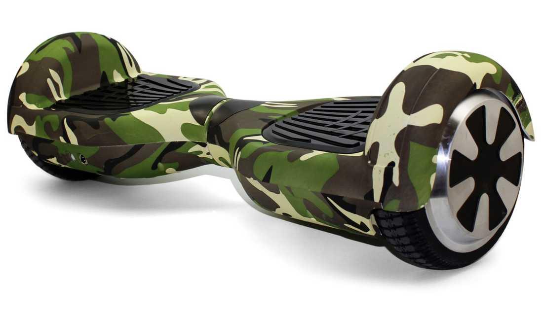 Så här ser en ny hoverboard ut.