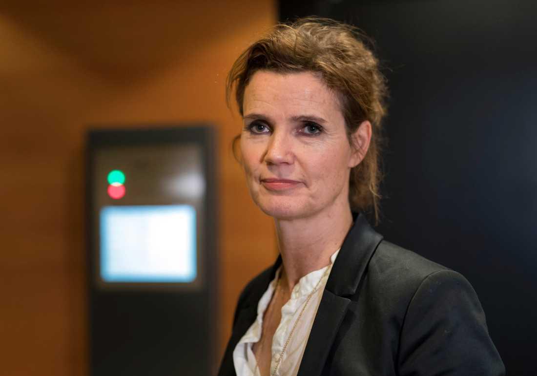 """""""Det finns en del saker som talar för att det är brott som är begångna, sedan vill inte jag gå in på exakt vad vi har för bevisning"""",  säger kammaråklagare Stina Lundqvist. Arkivbild."""