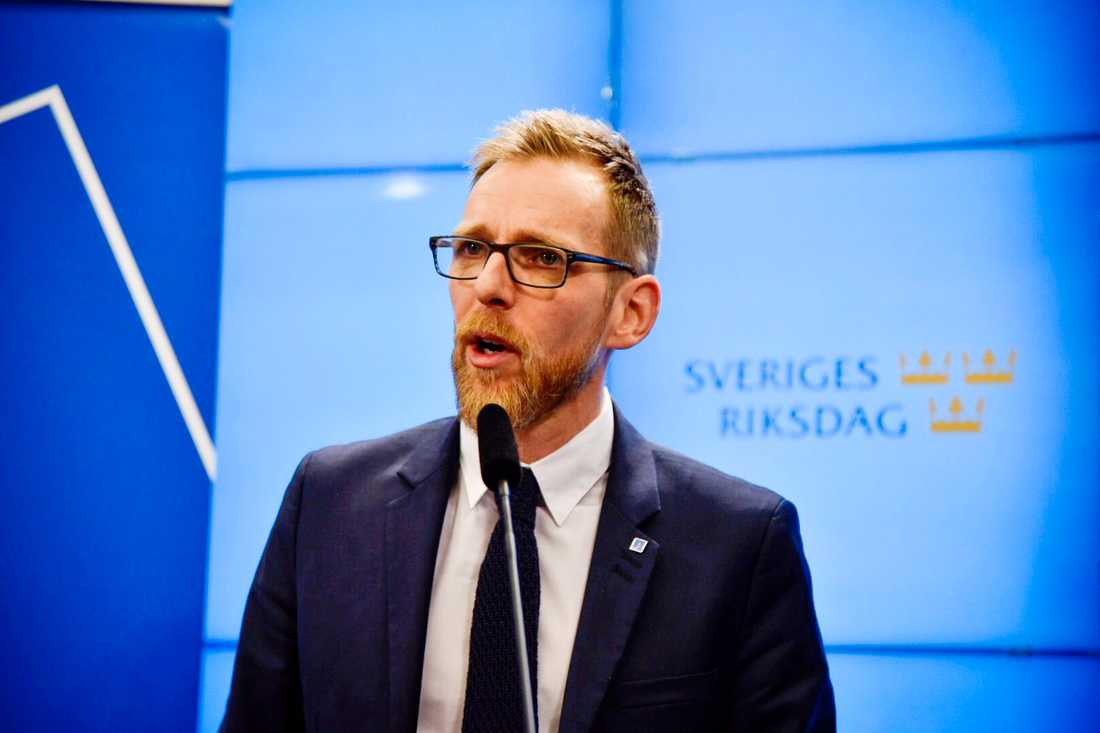 Kristdemokraternas ekonomiske talesperson Jakob Forssmed. Arkivbild.