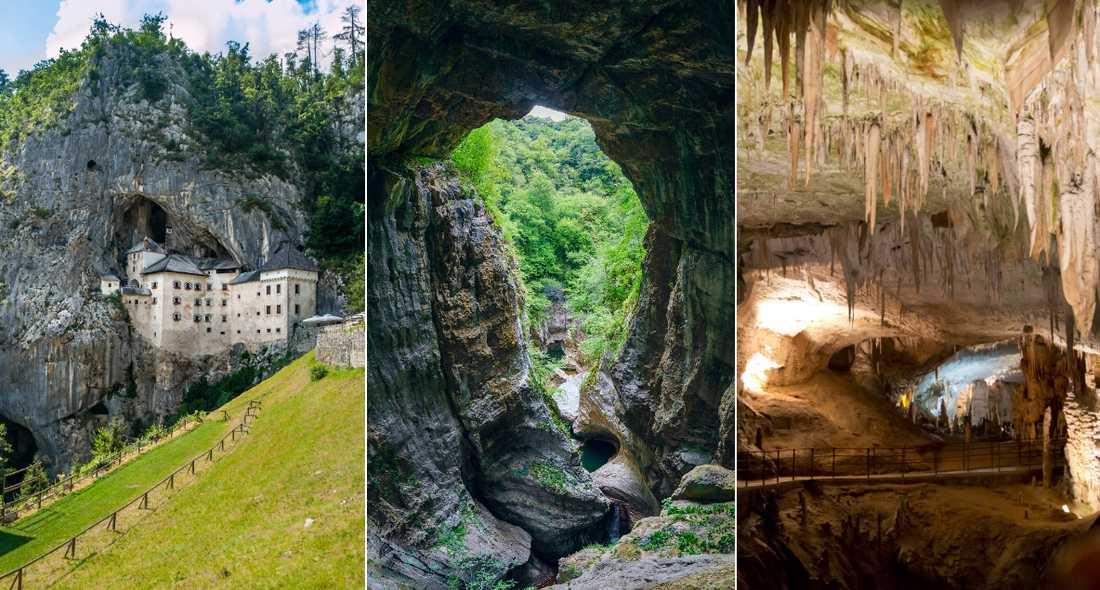 I Slovenien finns världens största karstsystem.