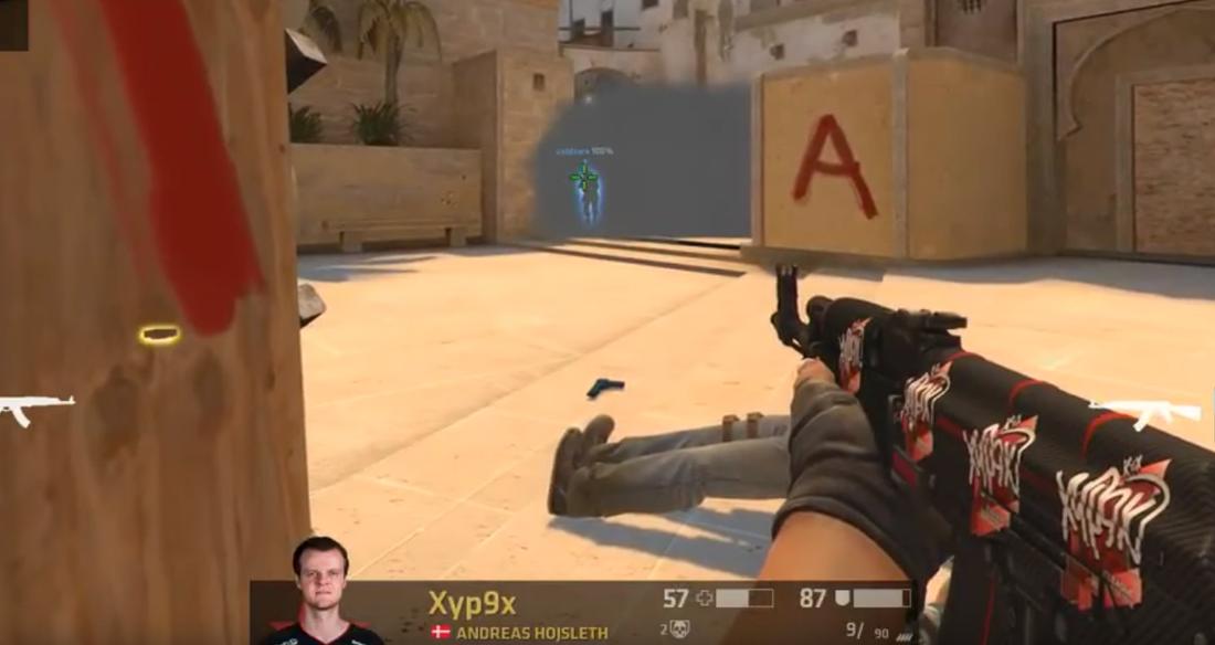 Skärmdump från händelsen