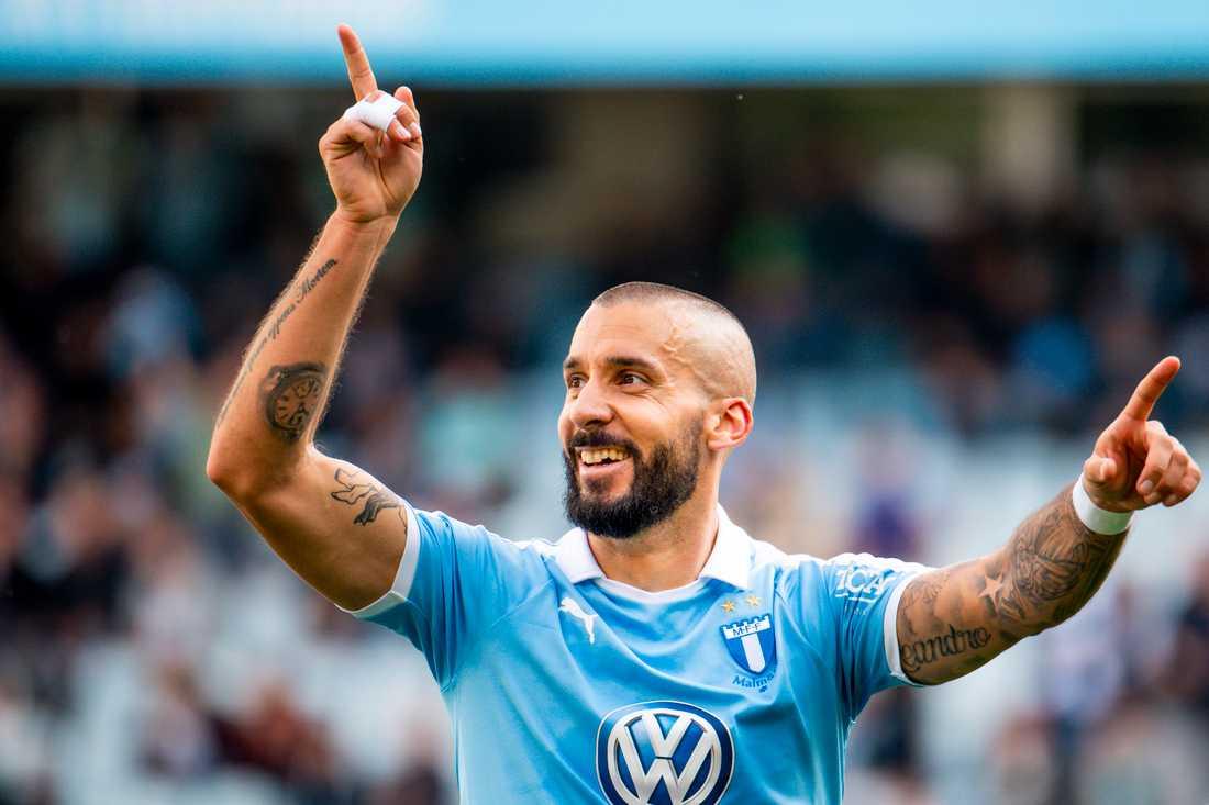 2019 har Guillermo Molins gjort fem mål och två assist på 20 allsvenska matcher.