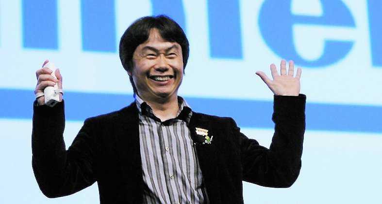 """Nintendo-legendaren Shigeru Miyamoto har skapat klassiska serier som """"Super Mario"""",""""Donkey Kong"""" och """"Zelda""""."""