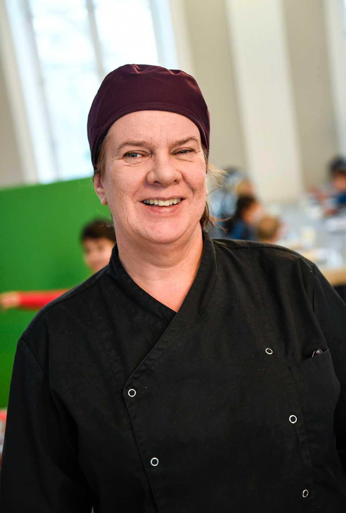 Mindre kött och minskat svinn har varit två ledord på Kristinbergsskolan i Stockholm.