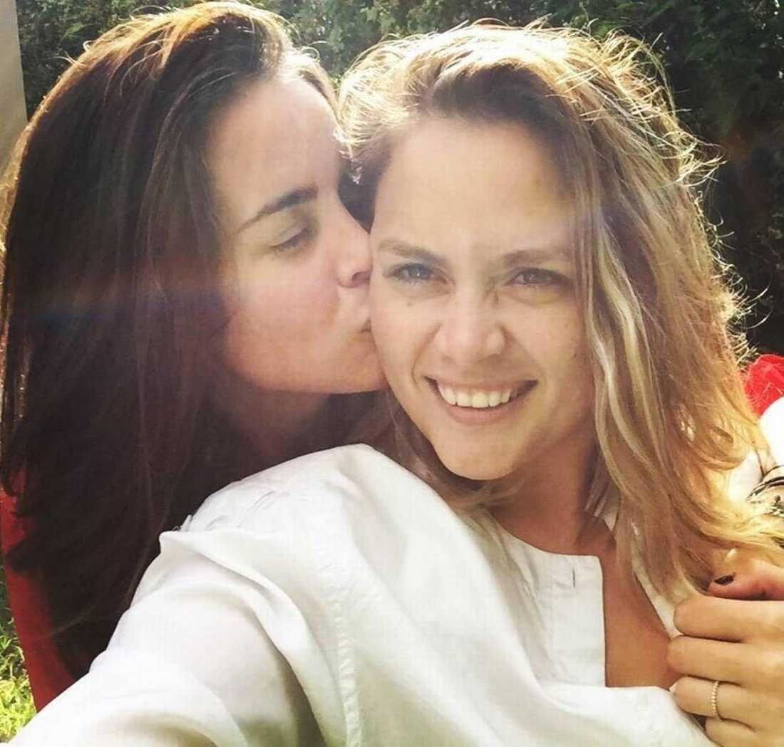 Jocelyn Morffi och hennes fru Natasha Hass gifte sig tidigt i februari.