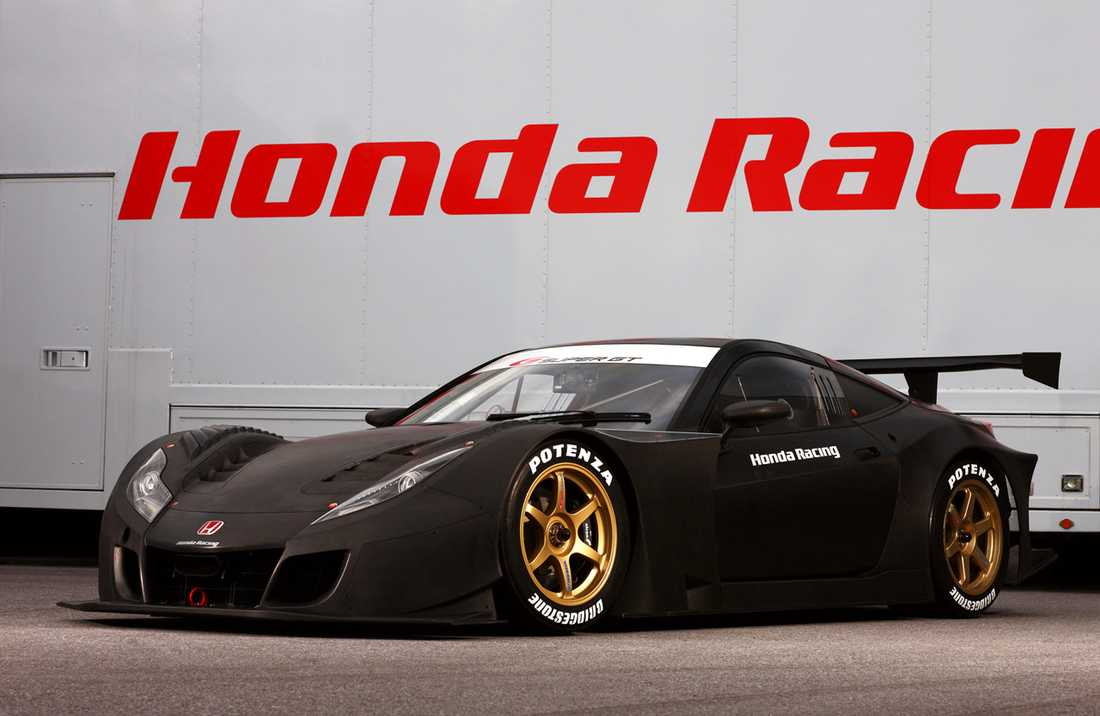 Honda HRC-010 Hondas tänkta efterträdare till populära NSX. Men istället för en folksportbil – blev det bara en ren tävlingsbil.