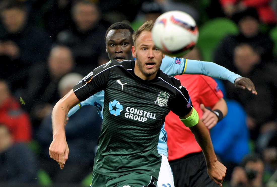 Andreas Granqvist, tidigare i Krasnodar, rekommenderade Kristoffer Olsson för klubben.