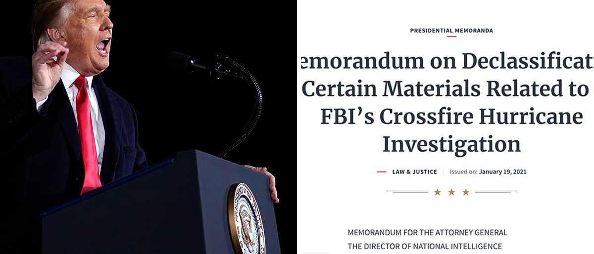 Trump häver sekretess på utredning
